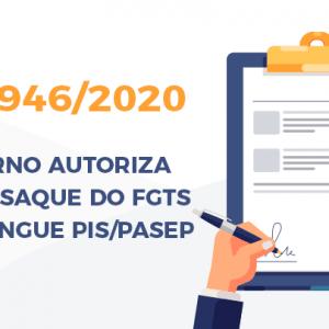 MP 946 DE 07.04.2020 - SAQUE EXTRAORDINÁRIO DO PIS/PASEP - COVID 19